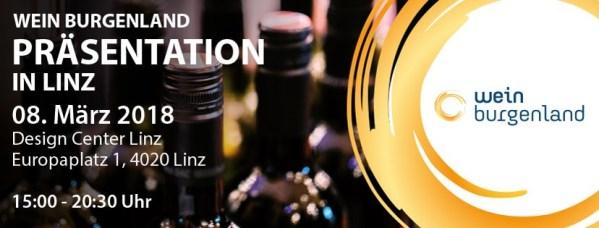 Wein Burgenland Präsentation 2018 - Linz