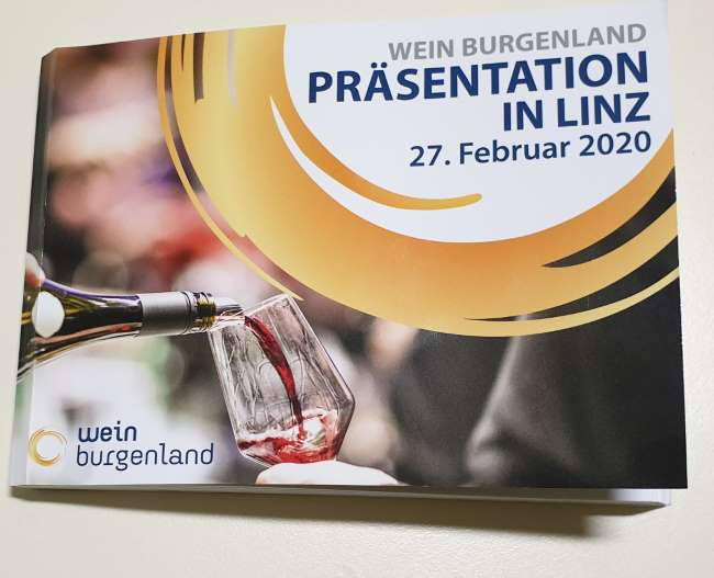 Wein Burgenland Präsentation 2020