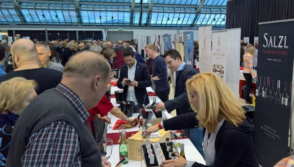Wein Burgenland Präsentation