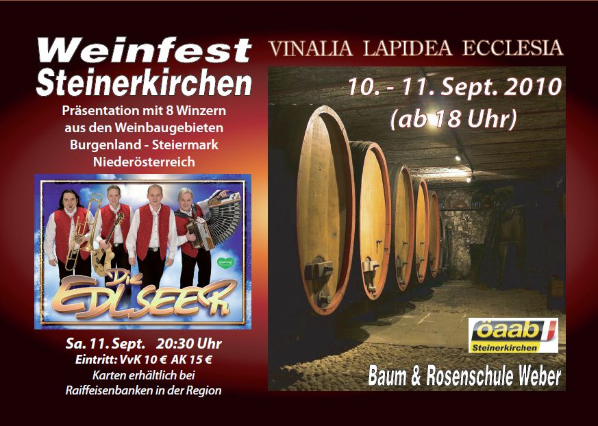 Weinfest-Steinerkirchen