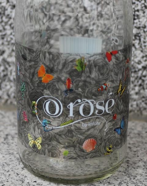 Sektkellerei Inführ Frizzante ORose1