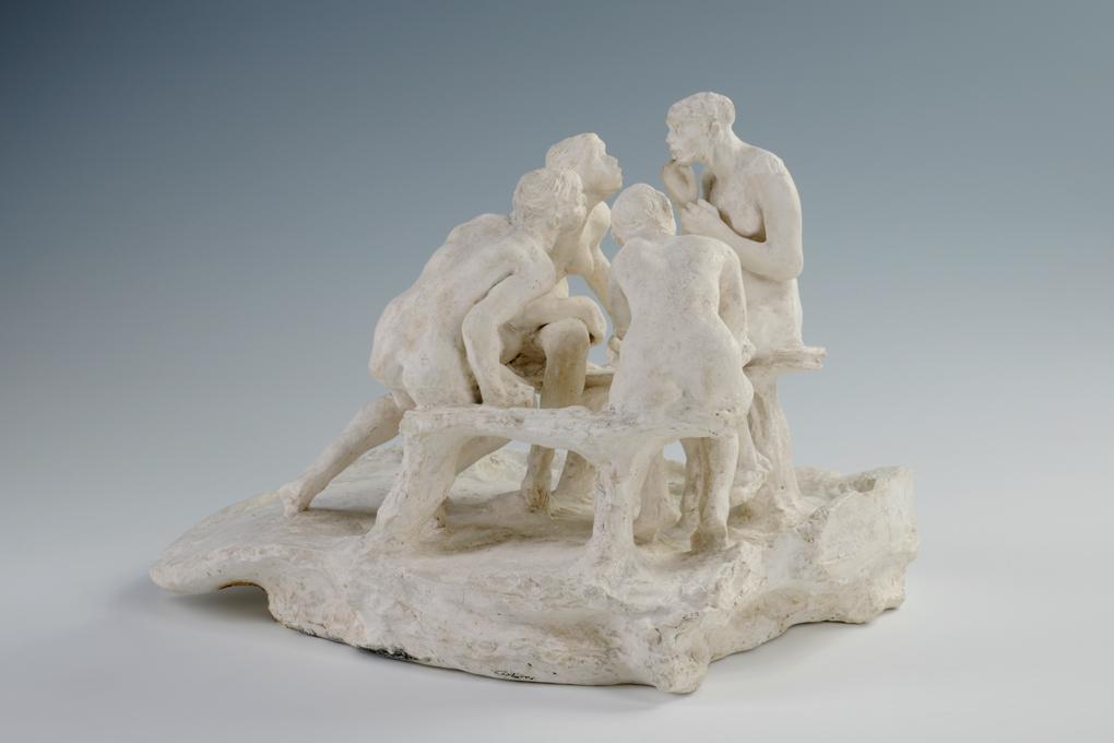 Camille CLAUDEL Les Causeuses ou Les Bavardes ou La Confidence 18931895  Roubaix La Piscine