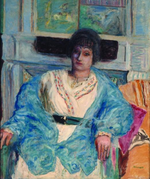 Portrait de Madame Emile Bernheim  Pierre BONNARD 1867  1947  1916