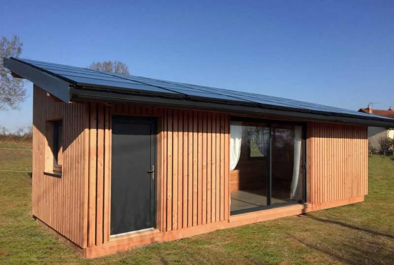 solaire box le chalet bois photovoltaique