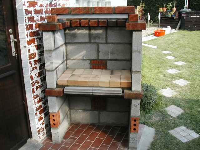 Construction dun barbecue