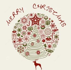 merry-christmas-card-design-base-deer-34943390