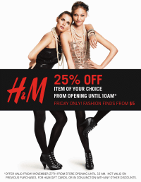 H&M Black Friday Sale | Rouge 18