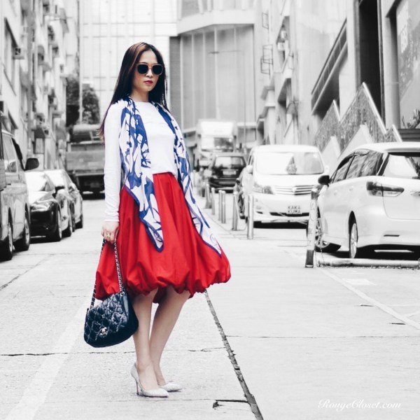 Stylebook: Puffy Red Skirt, CHANEL, Closed, Diptyque, GENTLE MONSTER, Hello Lennon, Isabel Marant, McQ Alexander McQueen, Rupert Sanderson, Stylist Licqoo, street style