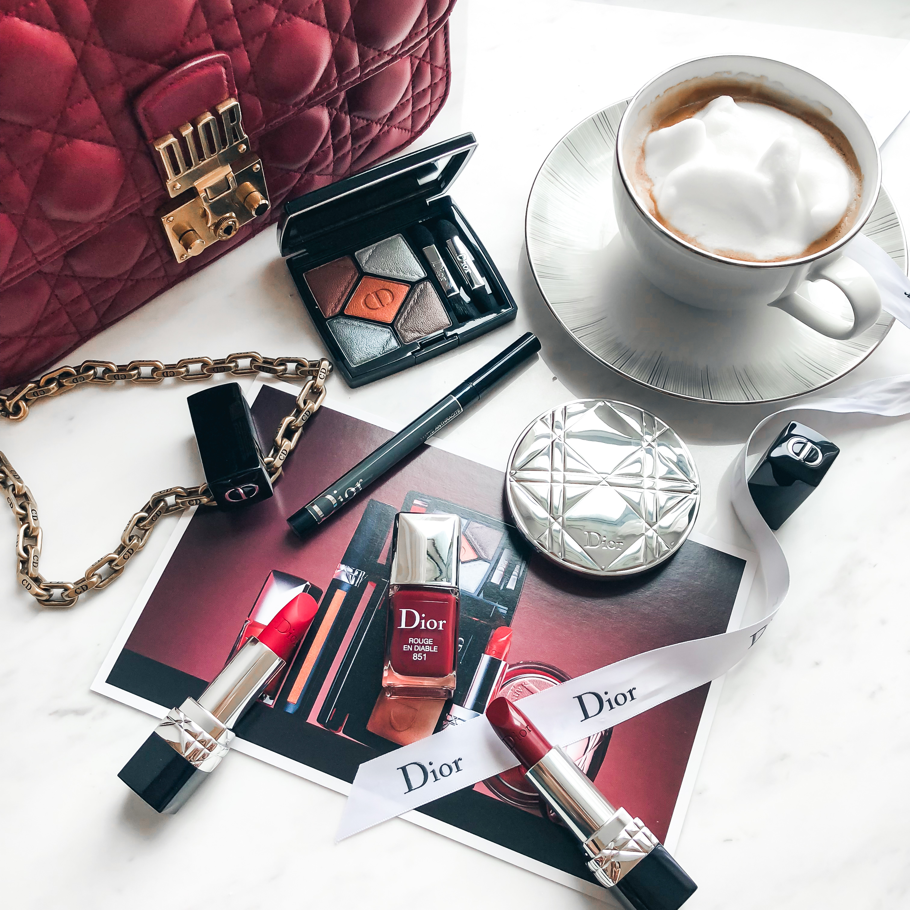 Fashion style Summer dior mix makeup collection for lady