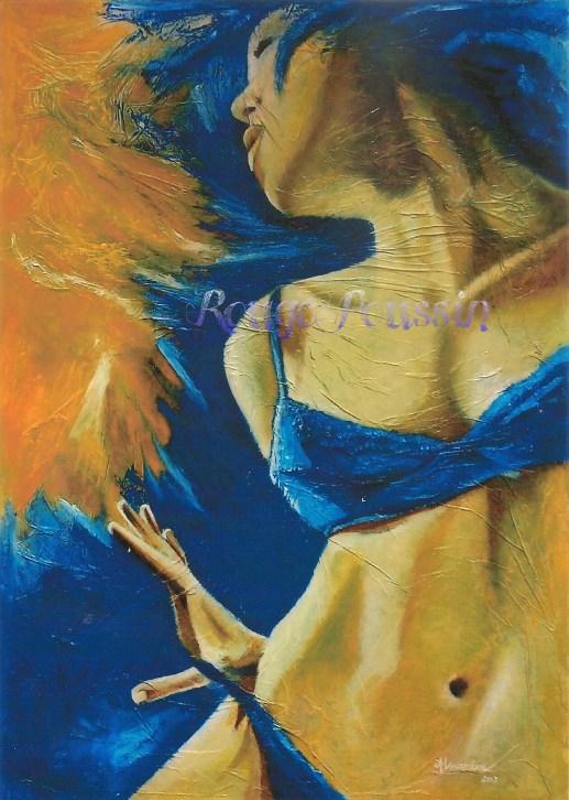 """""""Tout Feu, Tout Femme"""" : Tableau de Carole Alexandre"""