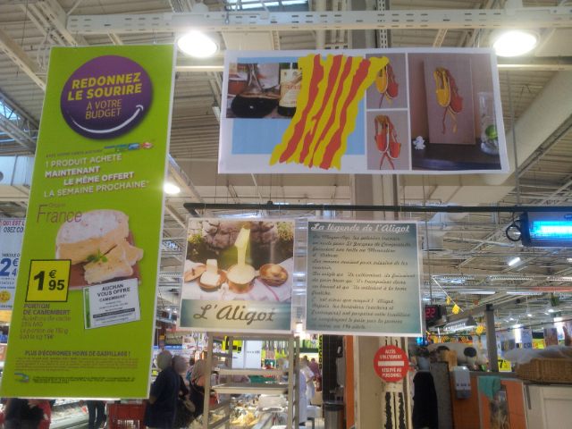 Affiches Auchan Perpignan Août 2014