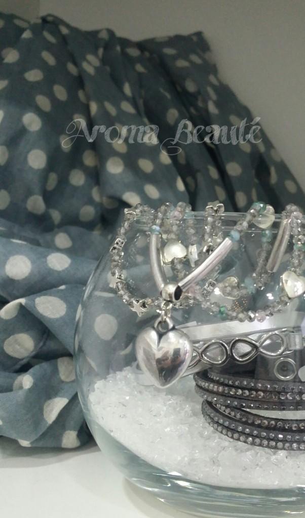 Les bijoux fantaisie d'Aroma Beauté