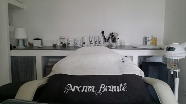 Les cabines d'Aroma Beauté