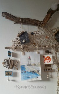 """Cueillette en bord de mer"" ....."