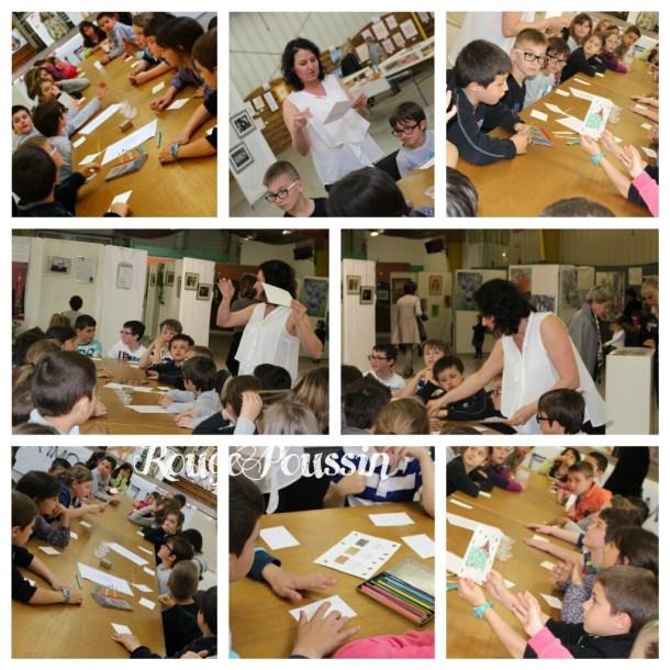 Découverte des crayons Aquarelle avec les élèves du CE2 de L'école Arago à Bompas