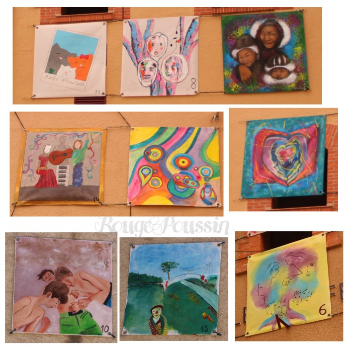 Les participants du concours de peinture de Toulouges