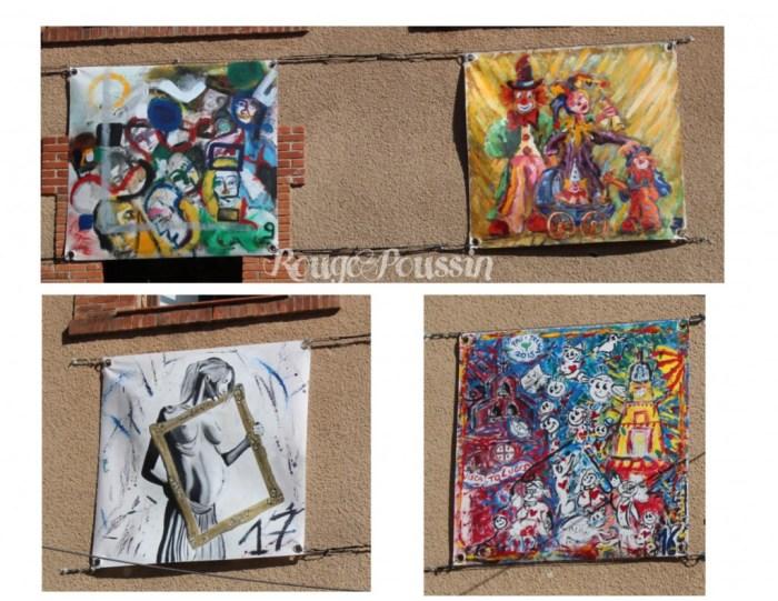 Concours de peinture de Toulouges 2015 : les participants