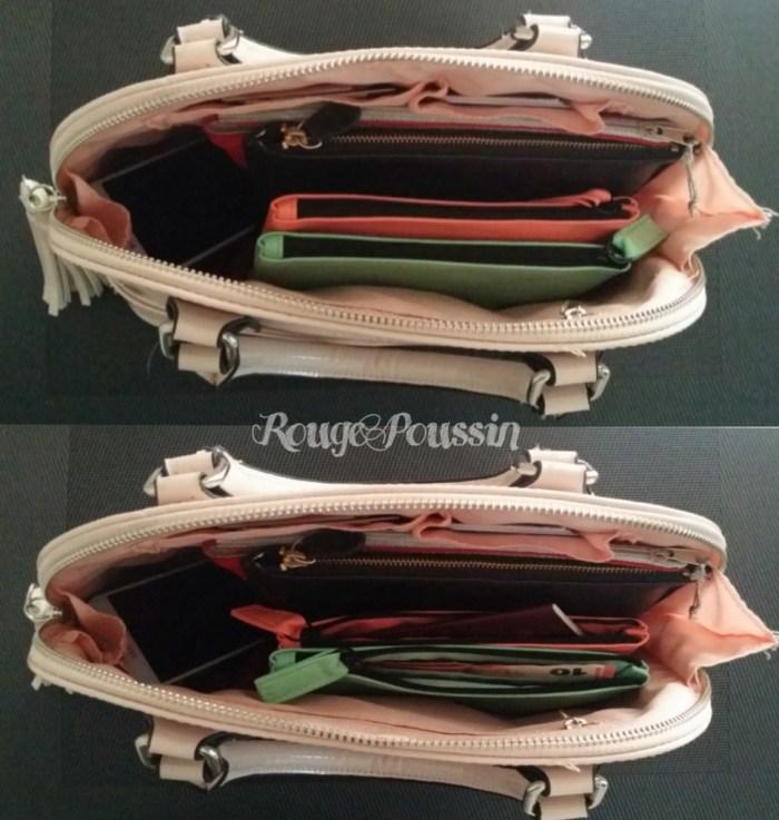 Des pochettes pour organiser son sac