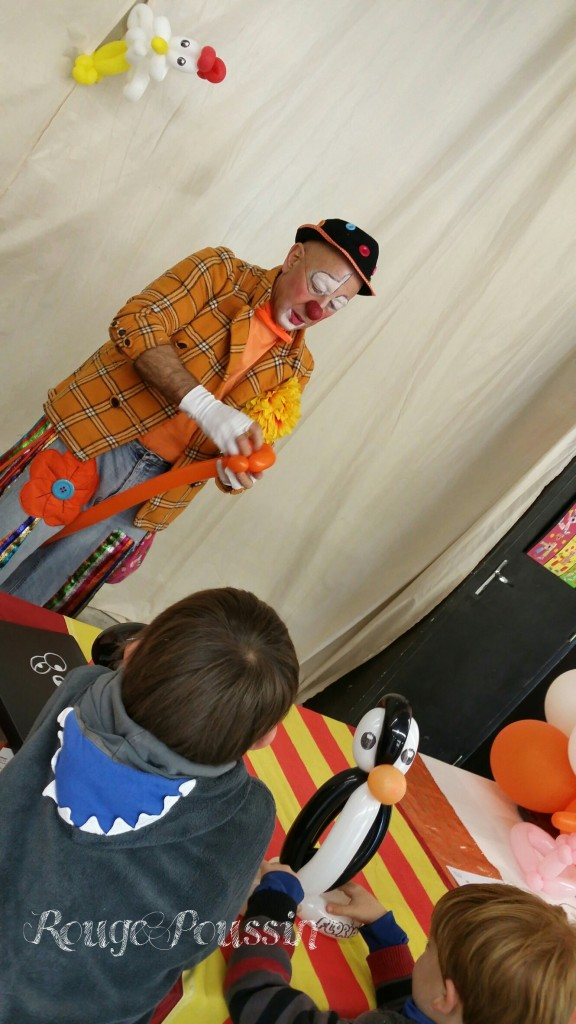 Stand animé par le Clown Sergio