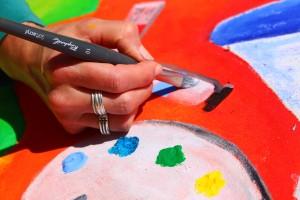 Viens peindre dans les rues de Toulouges ...!