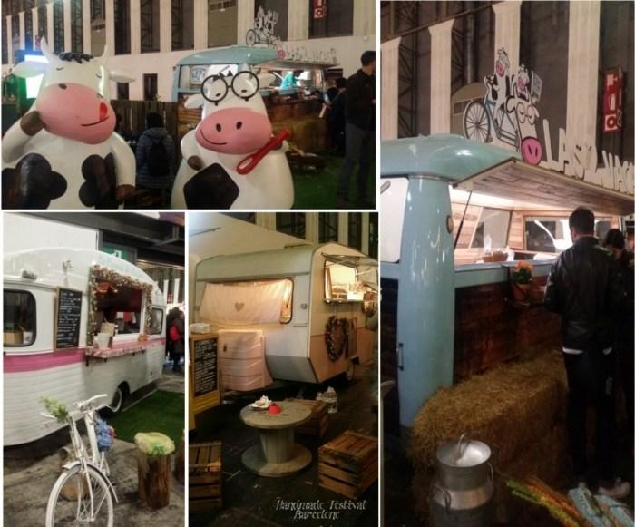 """Caravanes présentent au """"Handmade Festival"""""""