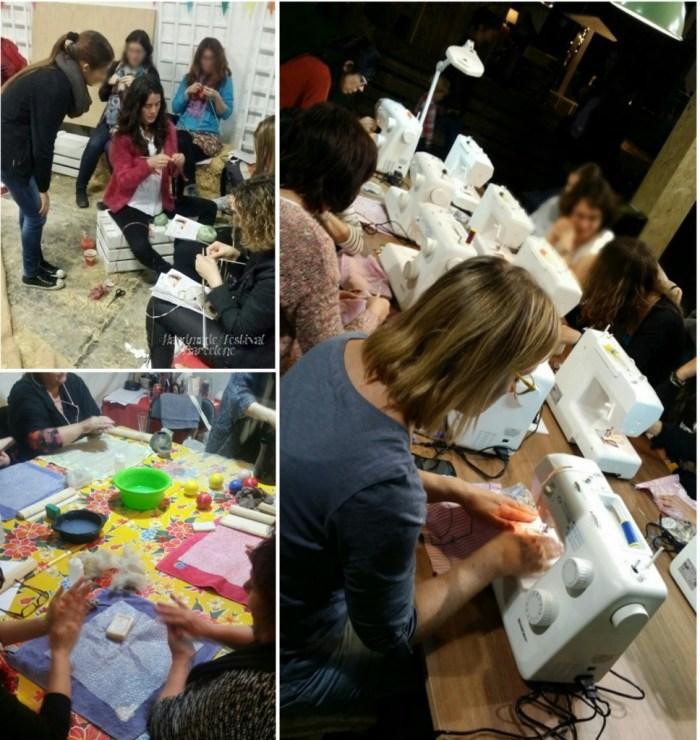 """Les différents ateliers proposés au """"Handmade Festival"""""""