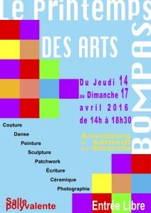 Affiche pour l'exposition à Bompas 2016