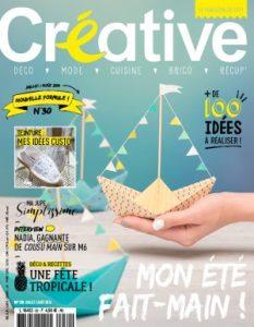 Couverture de Créative Magazine