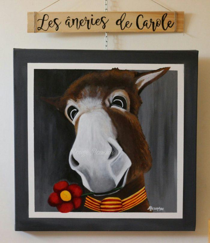 """Anerie n°12 : Joli coeur"" - Tableau de Carole Alexandre"