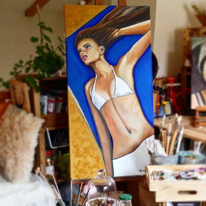 Tableau sur toile 60 x 120