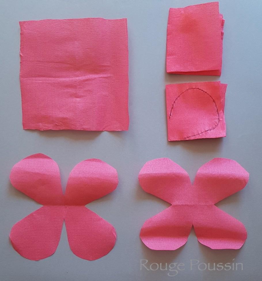 Tuto pour réaliser des fleurs en papier