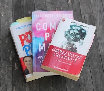 Présentation de trois livres qui me boostent