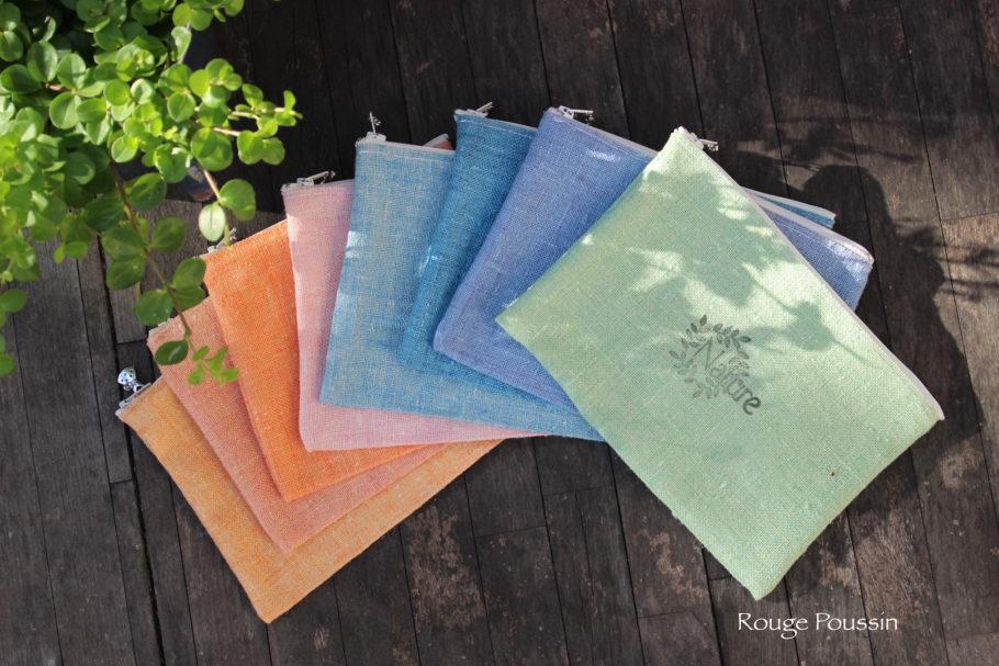 Création de pochettes en tissu