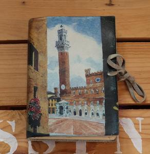 Carnet de dessin acheté en Italie.