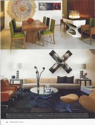 Interior Design September 2003 Magazine Article