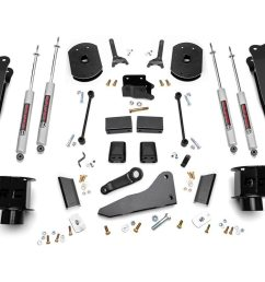 5in dodge suspension lift kit coil spacers radius arms 14 18 ram [ 1200 x 800 Pixel ]