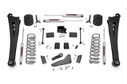 small resolution of 5in dodge suspension lift kit coil springs radius arms 14 18 ram