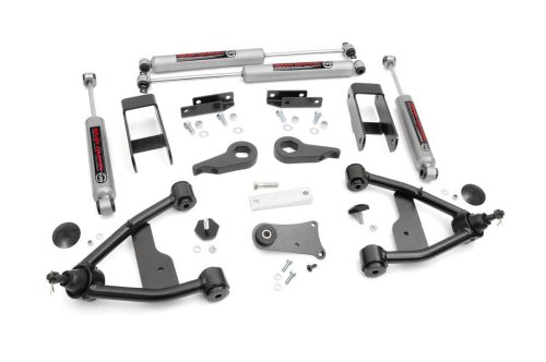 small resolution of 2 5in suspension lift kit for 82 04 chevy 4wd s10 gmc s15 24230 2002 chevy blazer front suspension diagram 1998 chevy s10 blazer rear