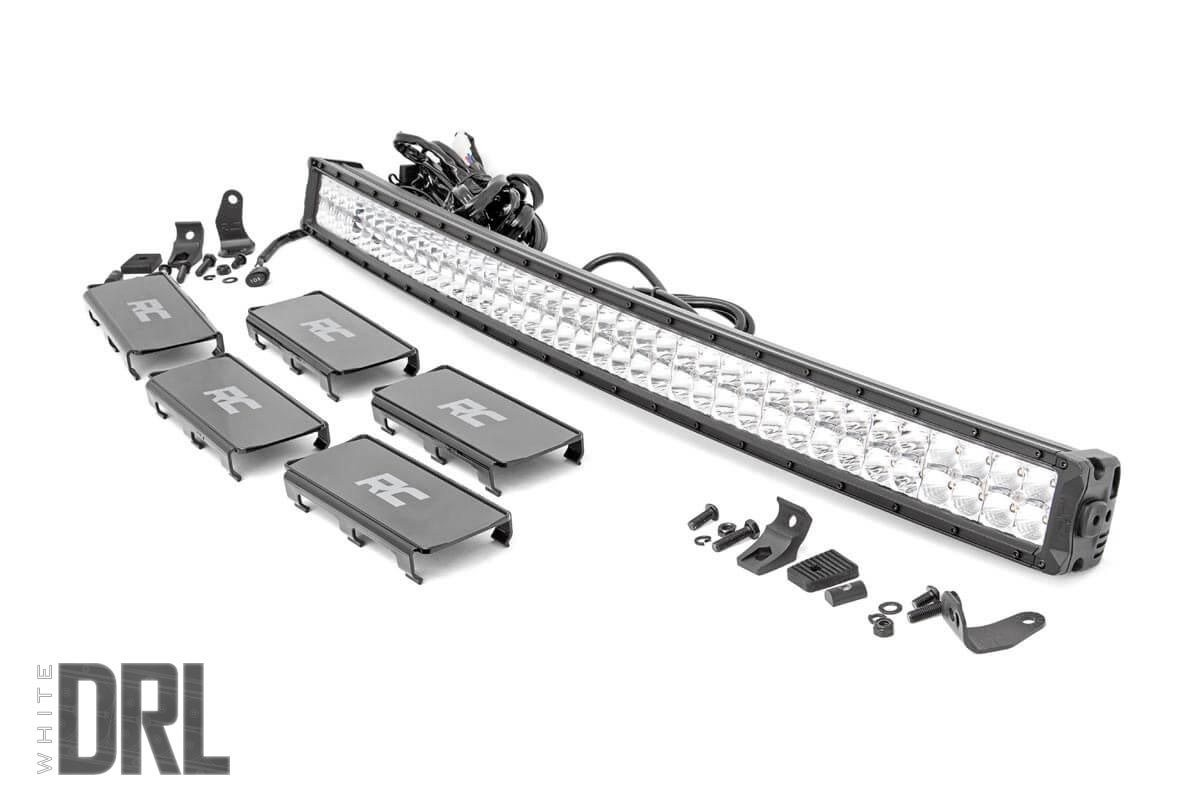 40 Inch Curved Dual Row Cree Led Light Bar With Cool White