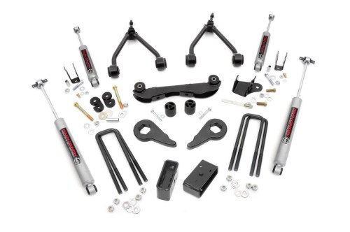 small resolution of 2 3in suspension lift kit for 88 98 chevy gmc 4wd 1500 pickup suv rough country suspension systems