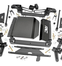 4in suspension lift kit for 88 98 chevy gmc 4wd 1500 pickup suv rough country suspension systems  [ 1200 x 800 Pixel ]