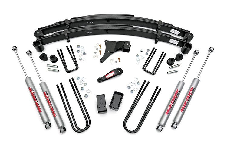 4in Suspension Lift Kit for 86-98 Ford 4wd F-350 Pickup