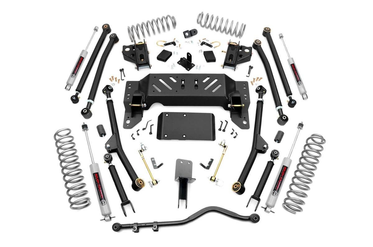 4in Long Arm Suspension Lift Kit for 93-98 Jeep ZJ Grand