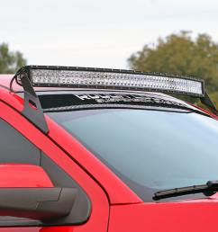 gm 54 inch curved led light bar upper windshield mounts 14 18 1500 [ 1200 x 800 Pixel ]