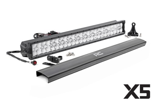 small resolution of 30 inch cree led light bar dual row x5 series