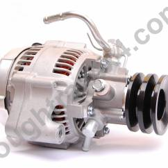 1992 Toyota Hilux Surf Wiring Diagram Basic Ford Solenoid Alternator New Unit Front Mounted Pump Roughtrax 4x4