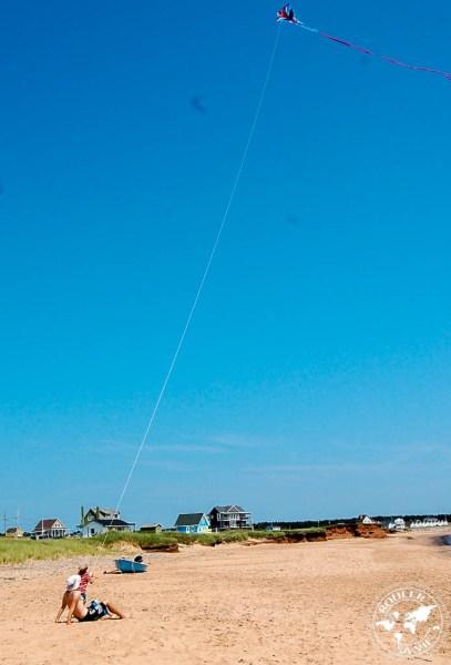 le vent est très présent aux Îles, parfait pour les cerfs-volants.