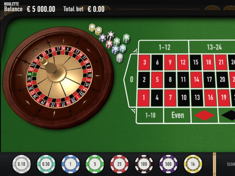 European Roulette Simulator — Play Online Roulette for Free