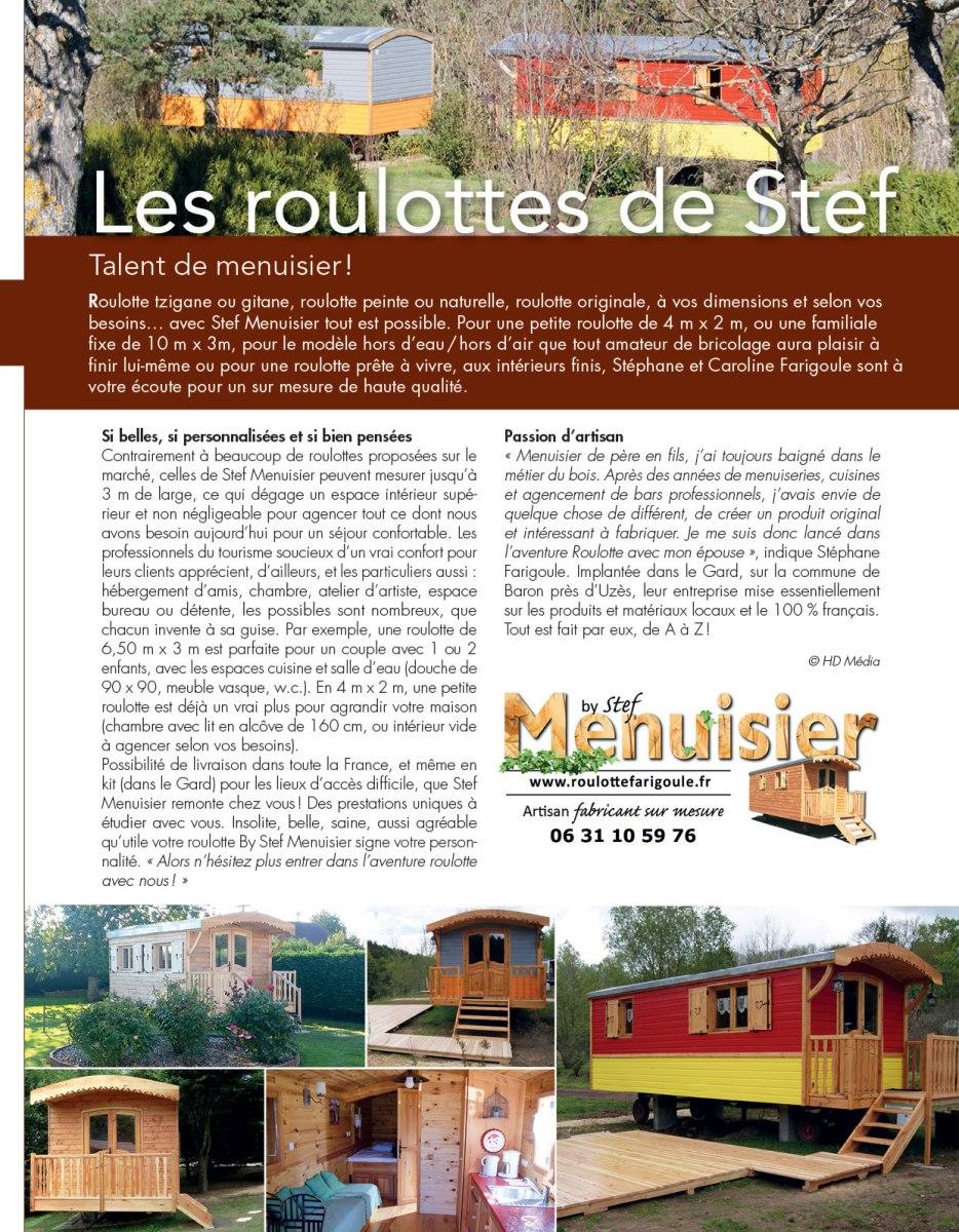 les roulottes de Stef Fabricant sud de la France
