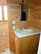 salle de bain roulotte